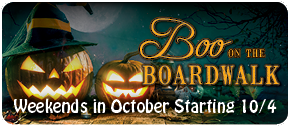 Boo on the Boardwalk starts October 6.