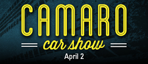 Camaro Car Show | April 6 from 11am to 4pm