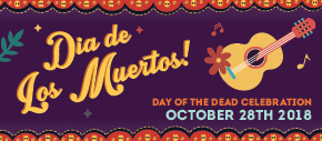 Dia De Los Muertos! Day of the Dead Celebration.