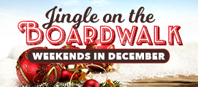 Jingle on the Boardwalk, Weekends in December