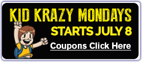 Kid Krazy Mondays! Click to view details.