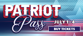 Patriot Pass - Three Parks, One Pass! July 4 - July 7