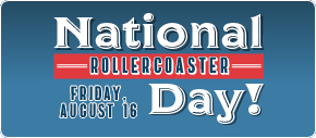 National Rollercoast Day at Kemah Boardwalk. Click to view details.