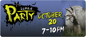 Join the Kemah Boardwalk for a Zombie Party on October 20. Click to view more details.