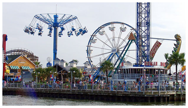 Kemah Boardwalk The Fun Never Stops