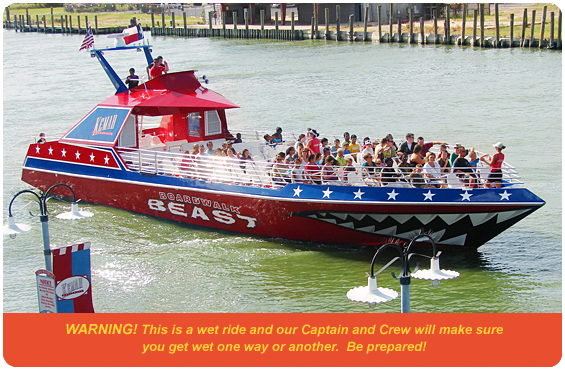 Go Architecture Boat Tour Coupon | Kemah Boardwalk The Fun Never Stops
