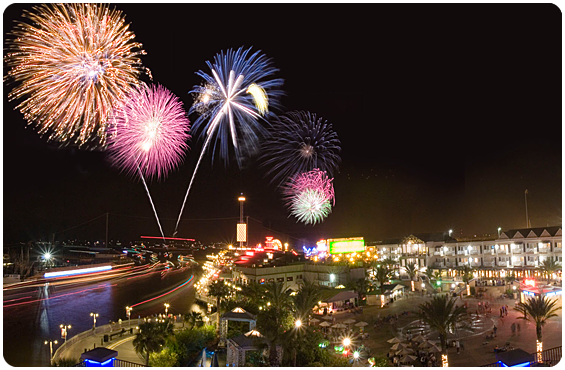 Photo of Fireworks Over Kemah Boardwalk