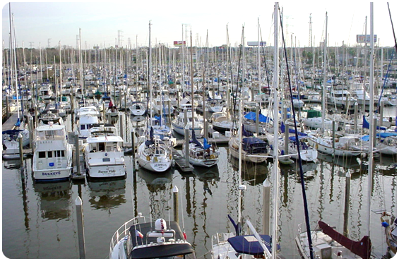 Photo of Boats at Kemah Boardwalk Marina