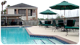 Photo of a Swimming Pool at Kemah Boardwalk Marina