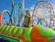 Caterpillar childrens coaster ride