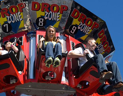 Drop Zone ride