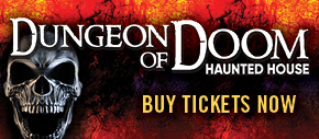 Dungeon of Doom Haunted House