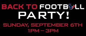 Back to football party!