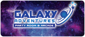 Link information on Galaxy Adventures Party Room and Arcade features video games