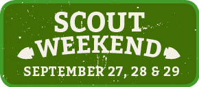 Scout Weekend. Click for details.