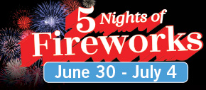 5 Nights of Fireworks