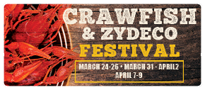 Crawfish Fest March-April
